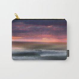 The Tide Rises ~ The Tide Falls ~ Sunset Clouds Carry-All Pouch