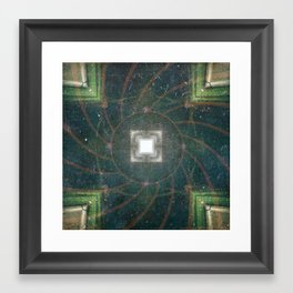 "Cubic ""R"" Framed Art Print"