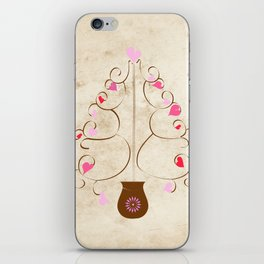 Hearts in Bloom iPhone Skin