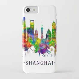 Shanghai China Skyline iPhone Case