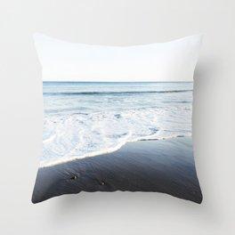 Bue Ocean Throw Pillow