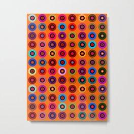 Orange Theorem Metal Print