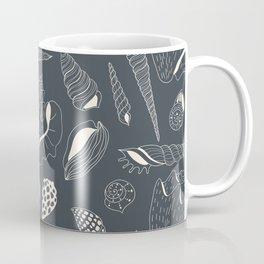 Sea shells pattern Coffee Mug