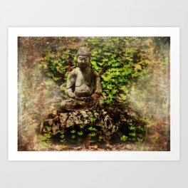 Conscious Breathing Art Print