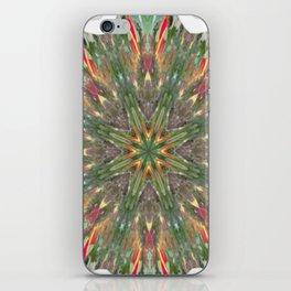 Tulip Tree Mandala iPhone Skin