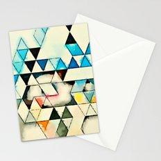 Geometric W1 Stationery Cards