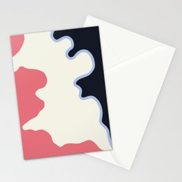 The shadow of movement Stationery Cards