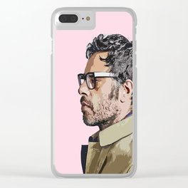 Jemaine Clement 5 Clear iPhone Case