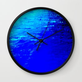 Moon Casting in to the Sea Wall Clock