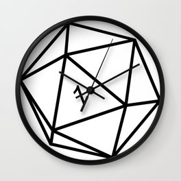 Fumble - Dungeons & Dragons for Dummies Wall Clock