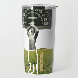 Don't Let The Speed Of Time, Fence You In...... Travel Mug