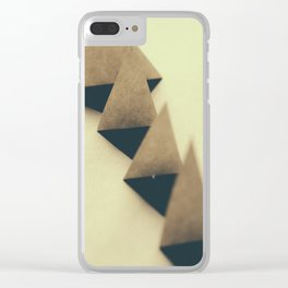 Pyramidal Tract Clear iPhone Case