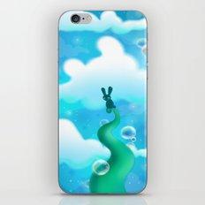 Beanstalk Bunny iPhone Skin