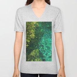 Crystal Cenote Unisex V-Neck