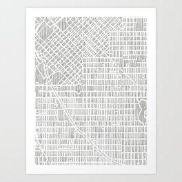 denver city print Art Print
