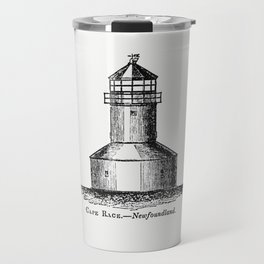 Cape Race Newfoundland from Circular relating to Lighthouses Lightships Buoys and Beacons (1863) Travel Mug