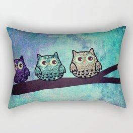 owl-46 Rectangular Pillow