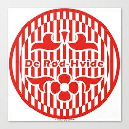 Denmark De Rød-Hvide (The Red-White) ~Group C~ Canvas Print