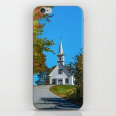 Chapel on the hill iPhone & iPod Skin