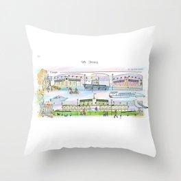 Debarkader Throw Pillow