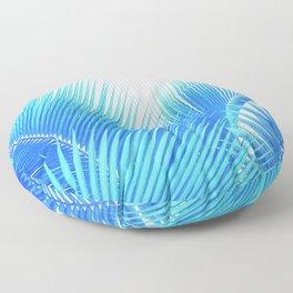 Winter Palm Floor Pillow