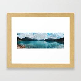 Garibalid Lake Framed Art Print
