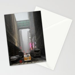 Snow Empire - NYC Stationery Cards