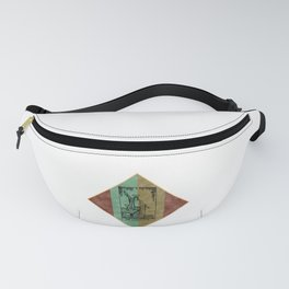 Tarot Magician Ancient Spiritual Playing Divination Card  print Fanny Pack