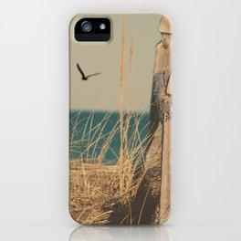 Paradise New England Beach Ocean Seaside Neutral Photography Fine Art Prints New  iPhone Case
