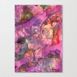 Unfolding Flowers Canvas Print