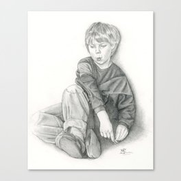 Whistling Canvas Print
