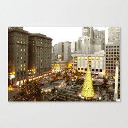 A Very SF Christmas Canvas Print