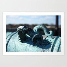 Ornate Canon  Art Print