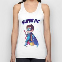 dc comics Tank Tops featuring Super DC by Sunshunes