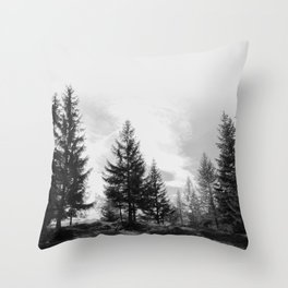 Zeitgefluester NO1 Throw Pillow