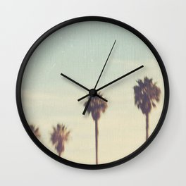 palm trees. Daydreamer No.2 Wall Clock