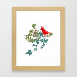 Holly and the Ivy Framed Art Print