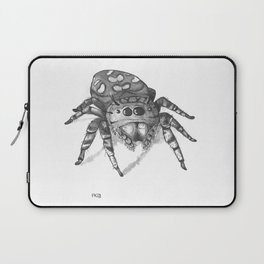 Inktober 2016: Jumping Spider Laptop Sleeve