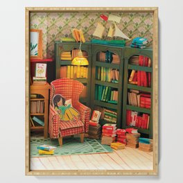 Reading Nook Serving Tray