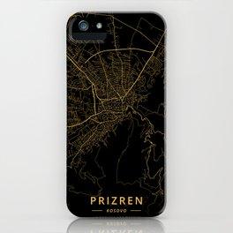 Prizren, Kosovo - Gold iPhone Case