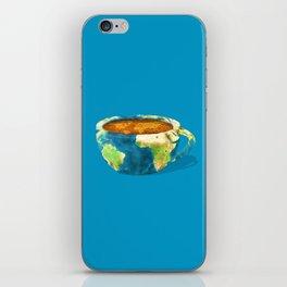 Coffee World iPhone Skin