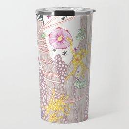 Pink Reef Travel Mug