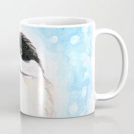 Cute Chickadee Watercolor Coffee Mug