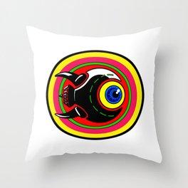 Eyesore Throw Pillow
