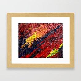 """""""Cataclysm"""" Abstract Framed Art Print"""