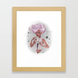 Space Queen Framed Art Print
