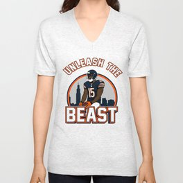 """The Victrs """"Unleash The Beast"""" Unisex V-Neck"""