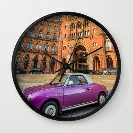 St. Pancras Renaissance Hotel London Wall Clock