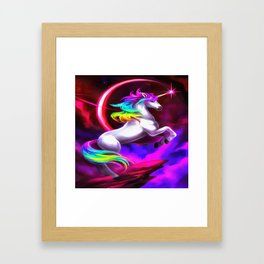 Unicorn Dream Framed Art Print