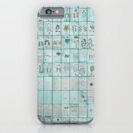 The Complete Voynich Manuscript - Blue Tint iPhone Case